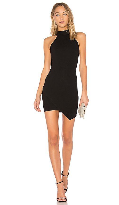 Tegan Wrap Mini Dress