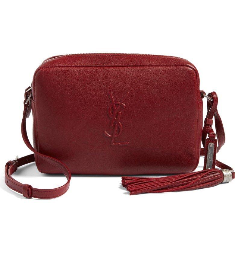 Small Mono Leather Camera Bag