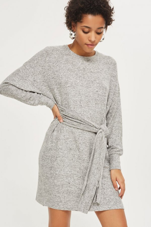 Cut and Sew Sweater Dress