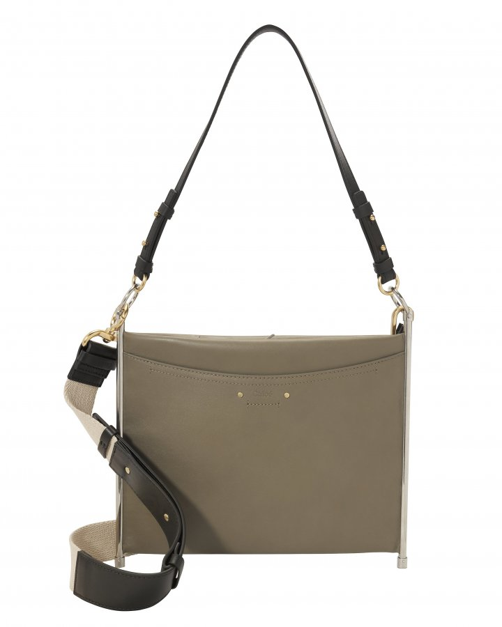 Crossbody Leather Pouch Bag