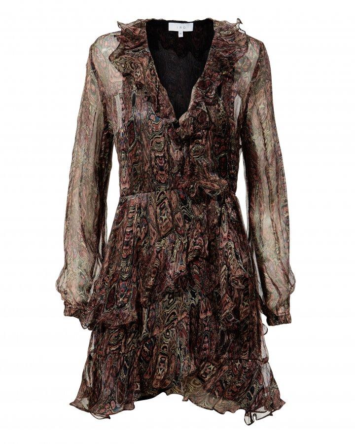 Giala Paisley Wrap Dress