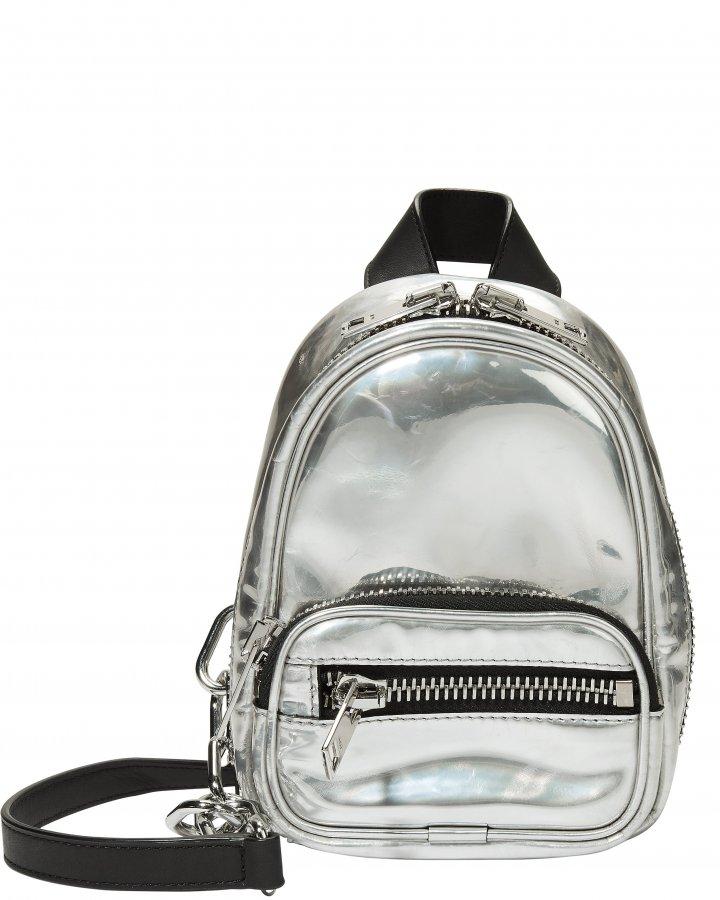 Attica Silver Backpack Bag