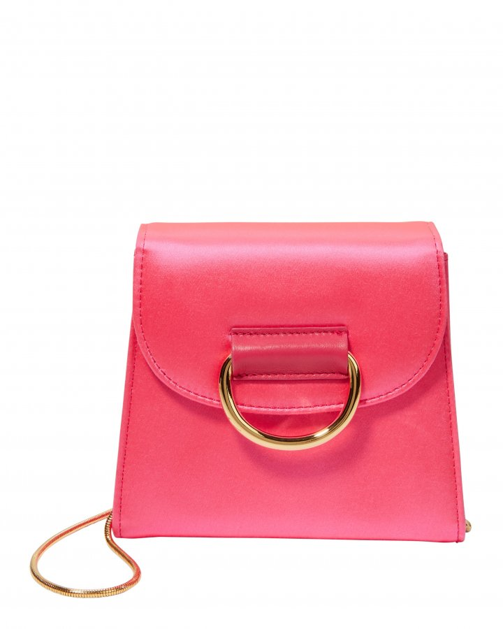 D Tiny Box Pink Shoulder Bag