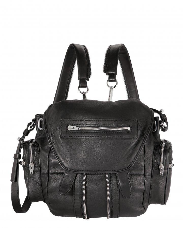 Marti Mini Leather Backpack