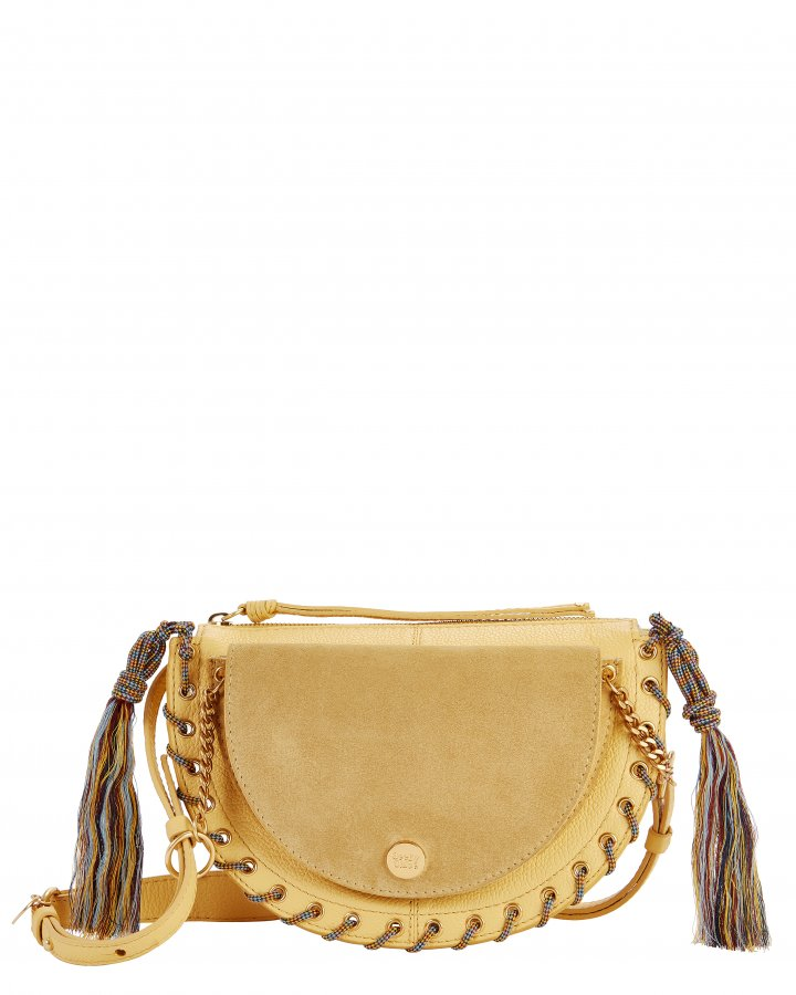 Kriss Small Yellow Shoulder Bag