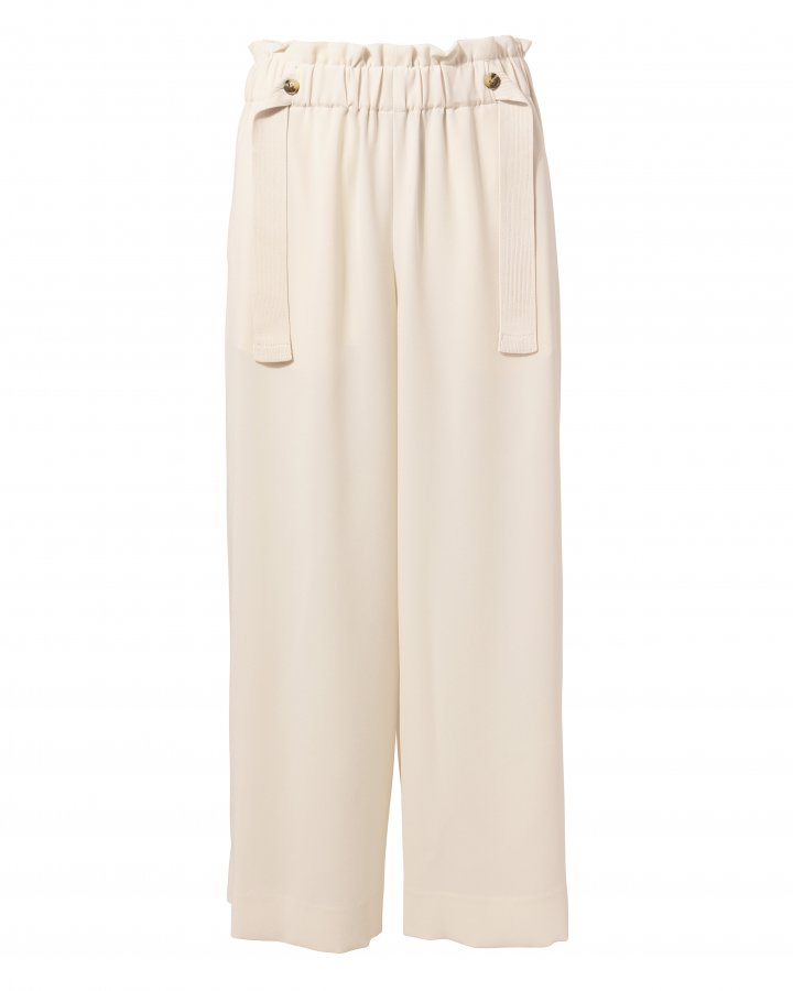Cinched Waist Culottes