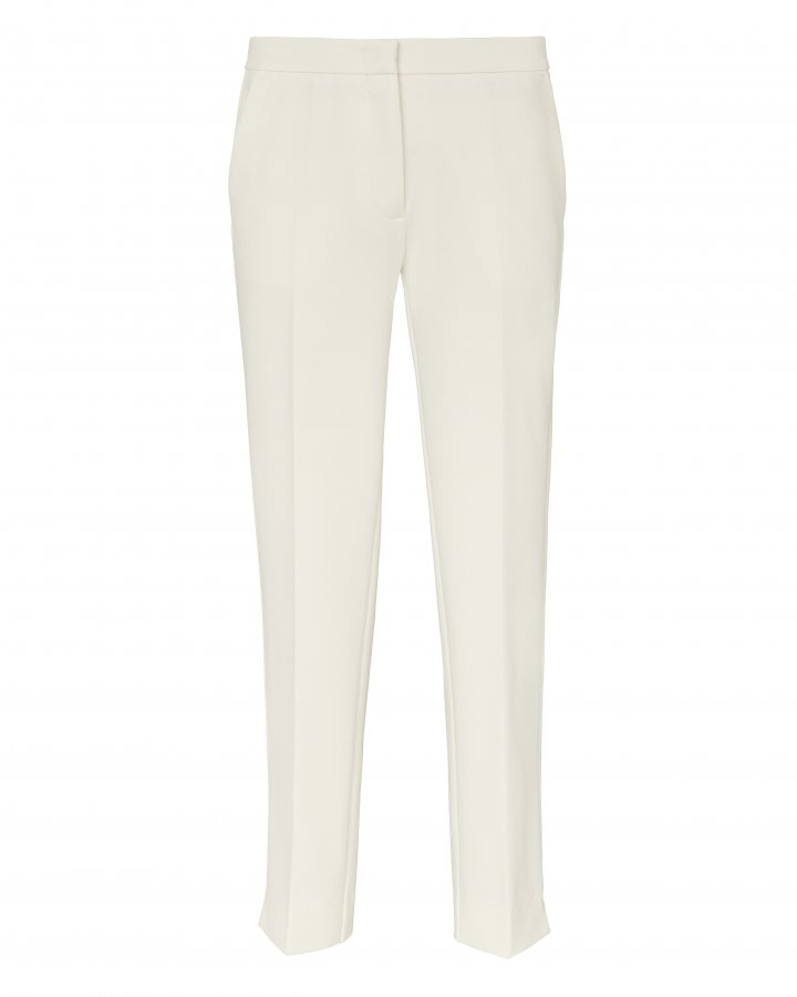 High-Rise Crop Flare Trousers