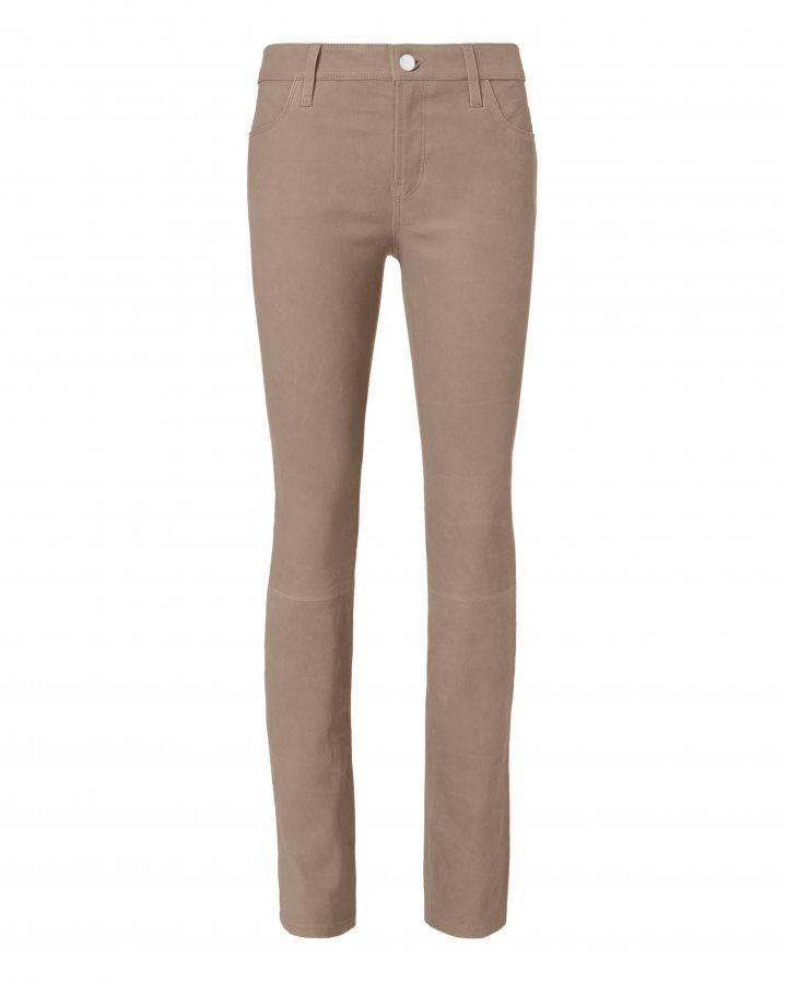 Maude Cigarette Leather Pants