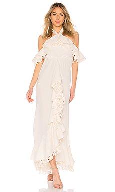 Zaya Gown in Ivory