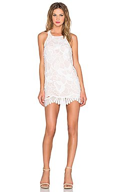 Caspian Shift Dress in White