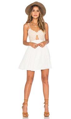 Bryce Mini Dress in Ivory