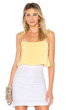 Melody Tie Cami Top in Yellow