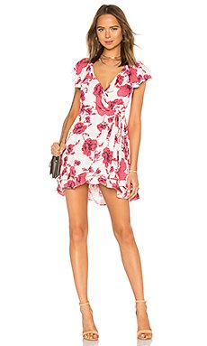 French Quarter Printed Mini Dress in Ivory