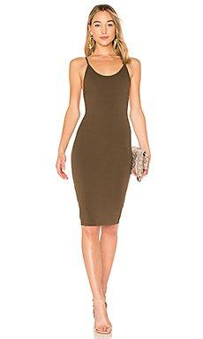 Kya Midi Dress in Olive