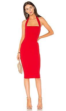 Boulevard Midi Dress in Flame