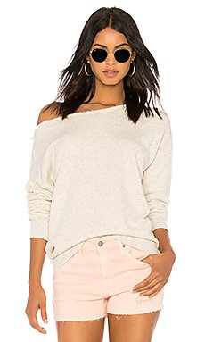 Rylee Sweater in Heather White