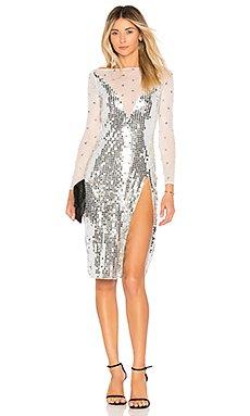 Skye Dress in Silver