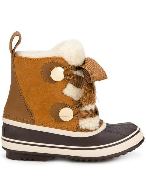Chloé Sorel x Chloé Winter Boots - Farfetch