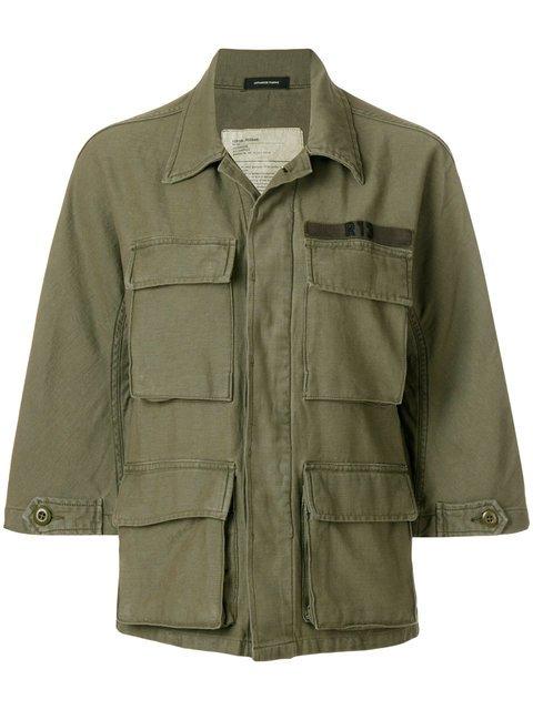R13 Military Shirt Jacket - Farfetch