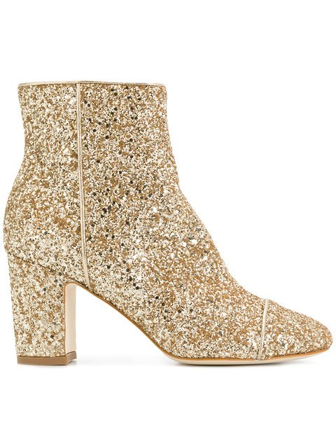Polly Plume Ally Sequin Boots - Farfetch