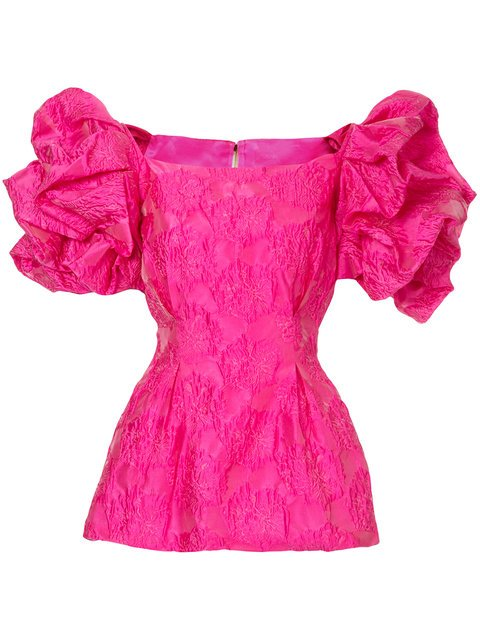 Bambah Ruffled Tunic Blouse - Farfetch