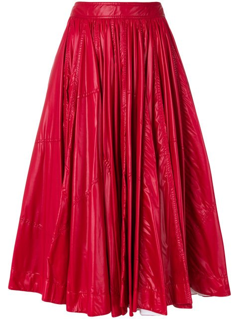 Calvin Klein 205W39nyc Shiny Full Skirt - Farfetch