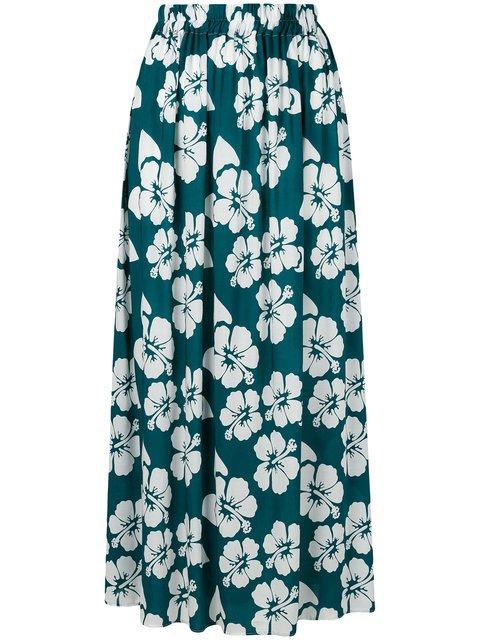 Simonetta Ravizza Gabri Floral Print Maxi Skirt - Farfetch