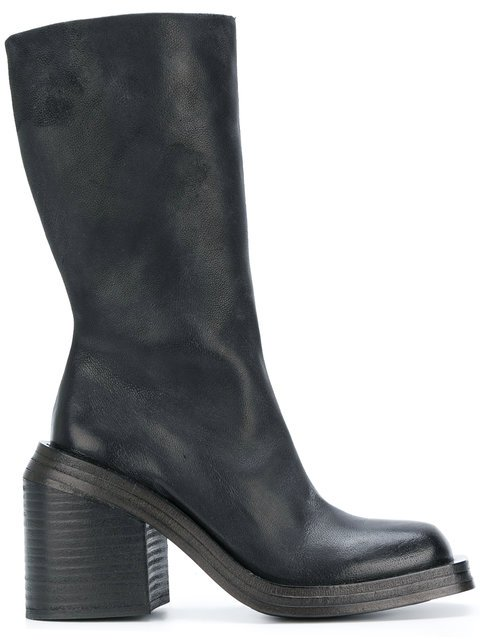 Marsèll Chunky Block Heel Boots - Farfetch