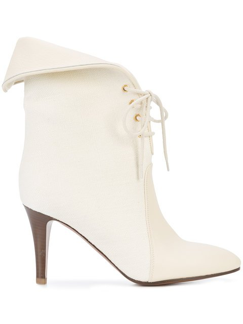 Chloé Foldover Top Ankle Boots - Farfetch