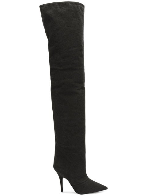 Yeezy Over The Knee Boots - Farfetch