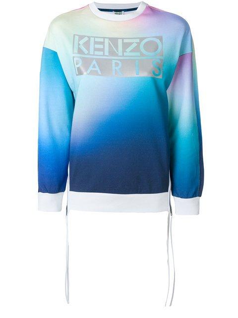 Kenzo Kenzo Paris Print Sweatshirt - Farfetch