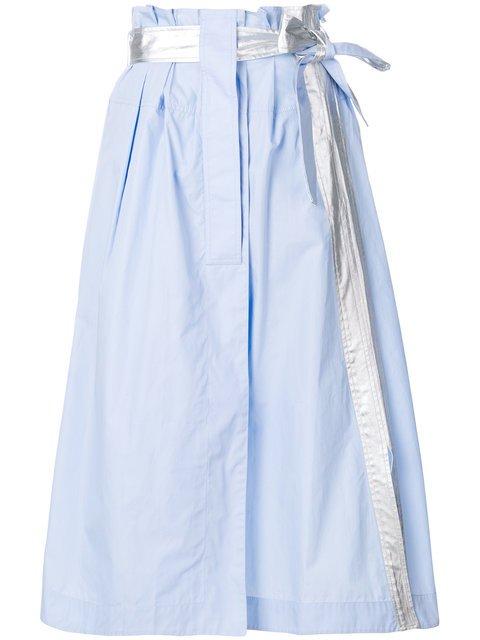 Paco Rabanne Belted Midi Skirt - Farfetch