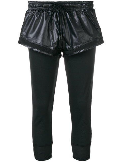 Adidas By Stella Mccartney Recycled Runner Short Leggings - Farfetch