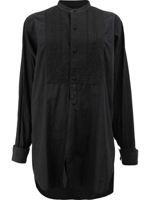 Blackyoto Oversized Bib Shirt - Farfetch
