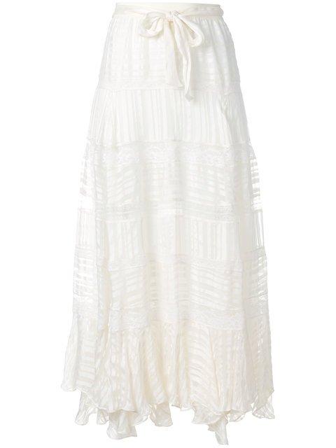 Zimmermann Textured Maxi Skirt - Farfetch