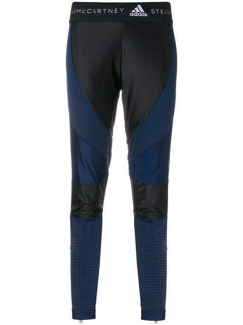 Adidas By Stella Mccartney Bandage Compression Leggings - Farfetch