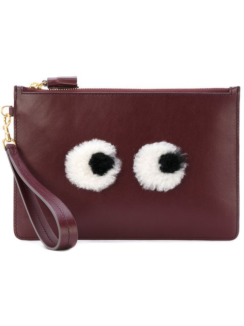 Anya Hindmarch Eyes Clutch - Farfetch
