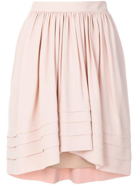 Chloé Flared Asymmetric Skirt - Farfetch