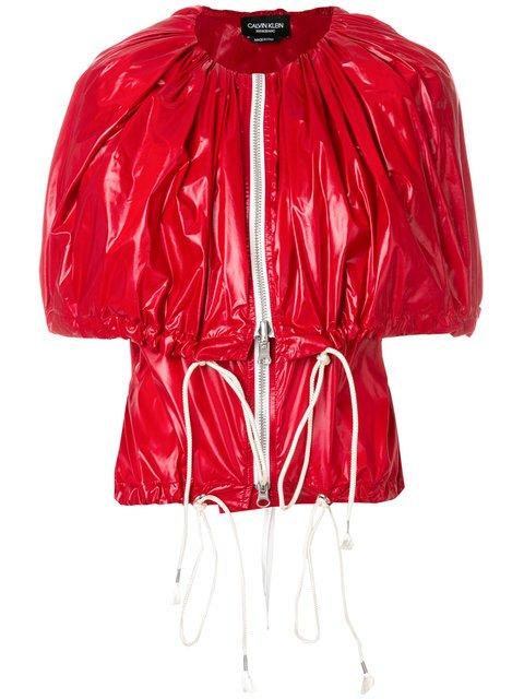 Calvin Klein 205W39nyc Zip-up Cape Jacket - Farfetch