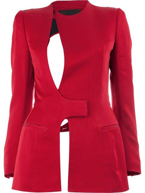 Haider Ackermann Cut-out Jacket  - Farfetch