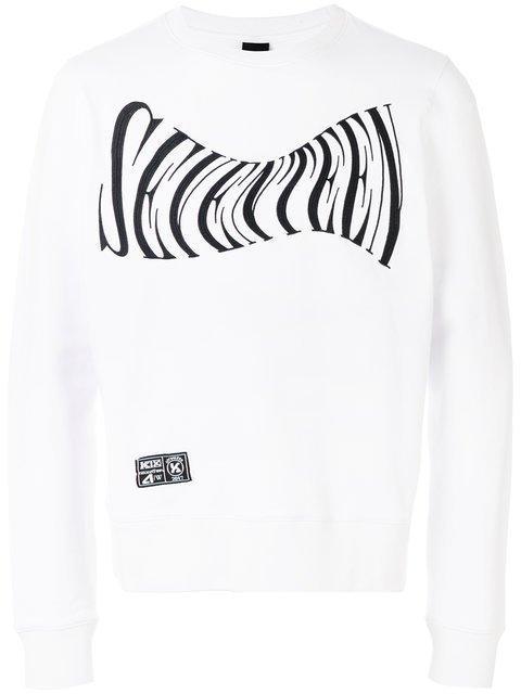KTZ Seventeen Embroidered Sweatshirt - Farfetch