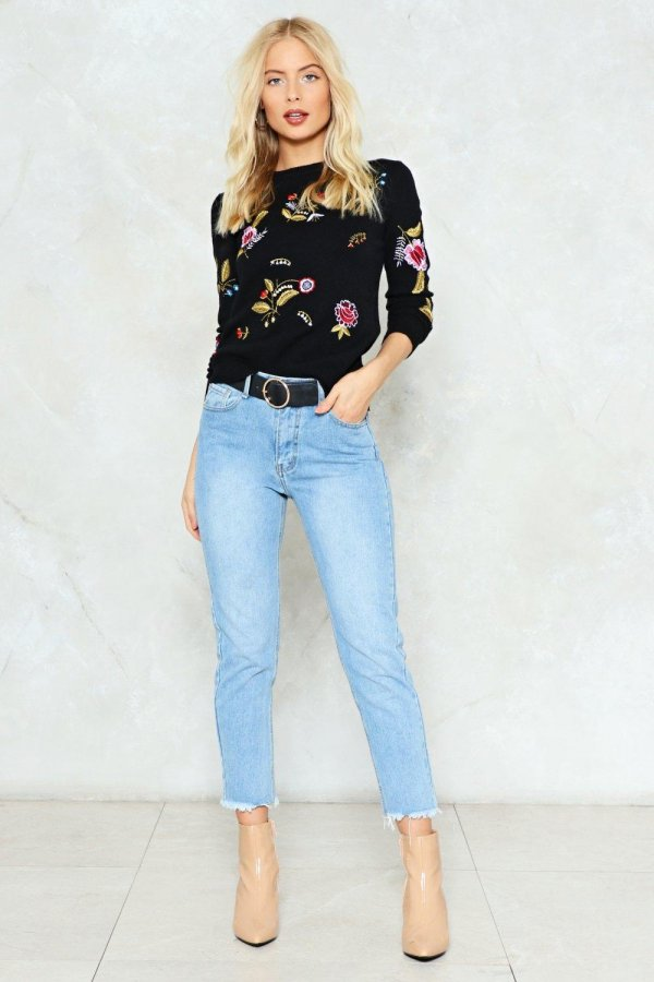Walk this Way Mid-Rise Jeans