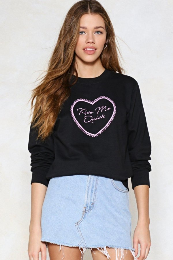 Kiss Me Quick Sweater