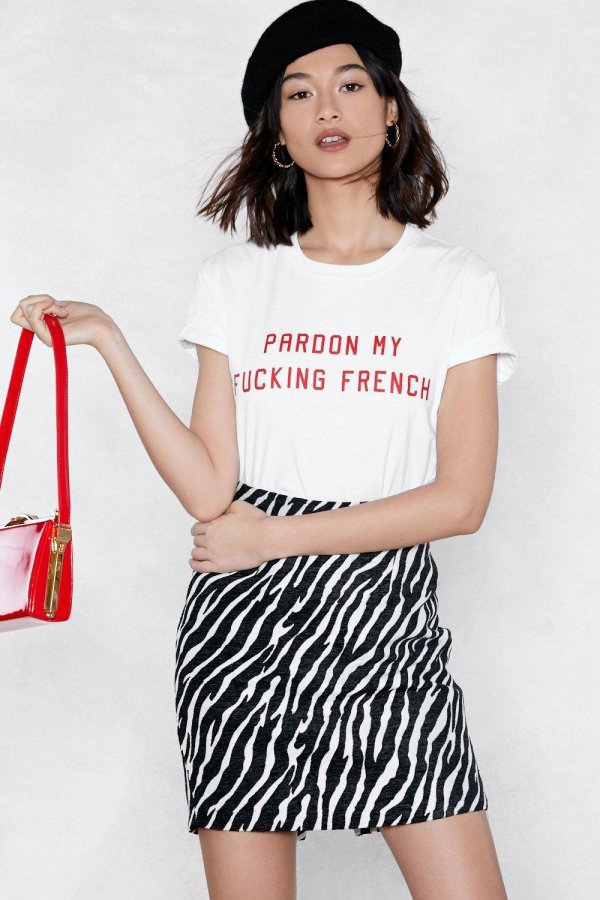 Pardon My Fucking French Relaxed Tee