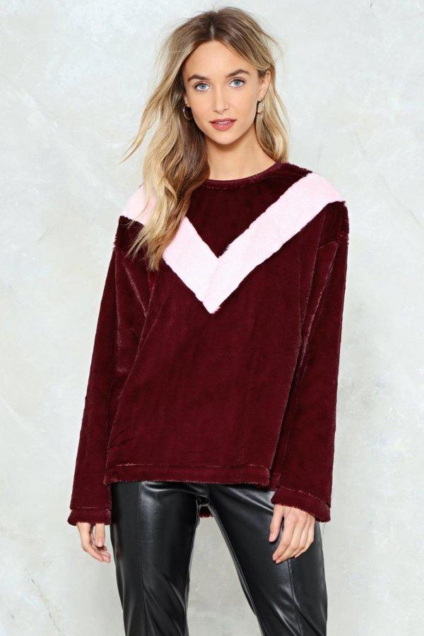 Chevron True Love Sweater