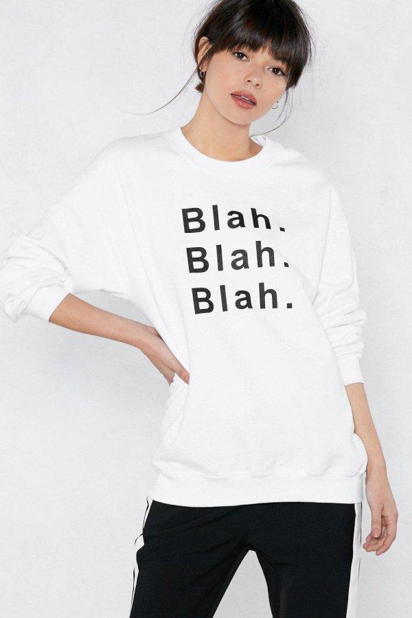 Blah Blah Blah Sweater