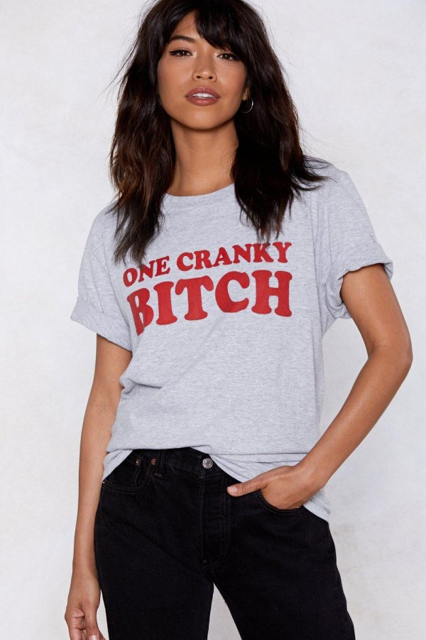 One Cranky Bitch Relaxed Tee