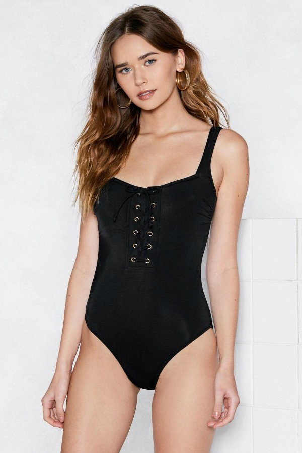 Apple of My Eyelet Swimsuit