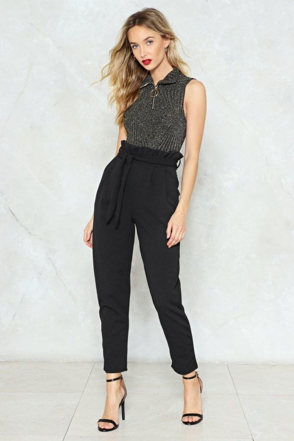You\'ll Never Know High-Waisted Pants