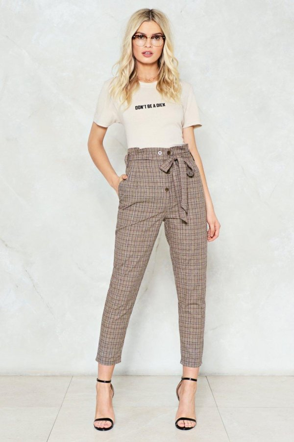 Accept the Truth High-Waisted Pants